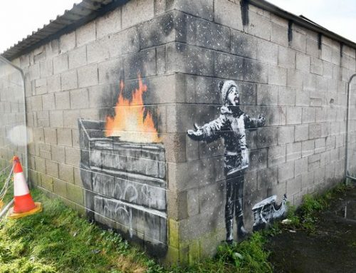 Port Talbot Banksy art could be moved to help preserve the piece