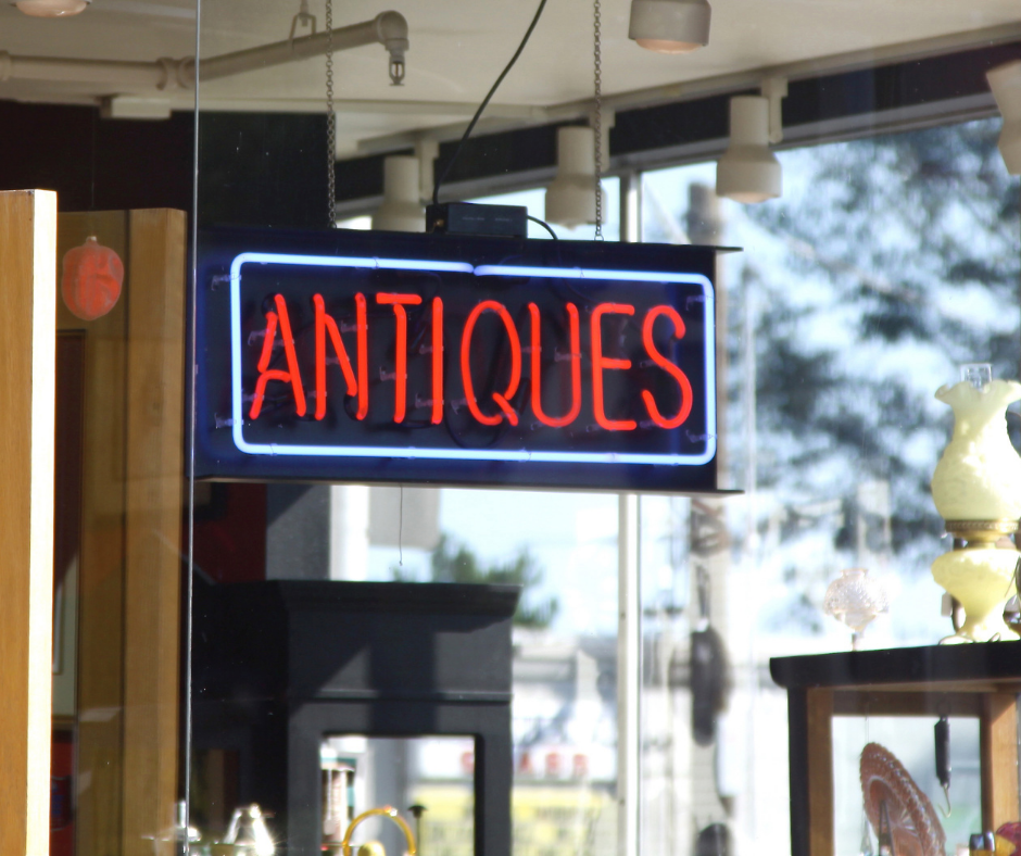 local antique dealers are a good way to sell antiques and fine art